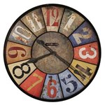 Howard Miller 625-547 County Line Wall Clock