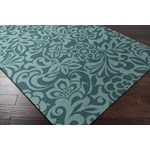 "Surya Candice Olson Modern Classics Teal Blue (CAN-2047) Square 1'6"" x 1'6"""