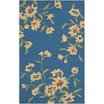 "Surya Paule Marrot Cannes Mediterranean Blue (CNS-5401) Rectangle 5'0"" x 8'0"""