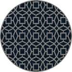 "Surya Dream Midnight Blue (DST-1169) Round 8'0"" x 8'0"""