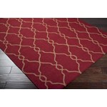 "Surya Jill Rosenwald Fallon Carmine (FAL-1013) Rectangle 3'6"" x 5'6"""