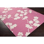 "Surya Jill Rosenwald Fallon Bright Pink (FAL-1064) Rectangle 2'0"" x 3'0"""