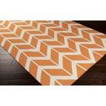 "Surya Jill Rosenwald Fallon Papaya (FAL-1081) Rectangle 2'0"" x 3'0"""