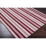 "Surya Country Living Farmhouse Stripes Ivory (FAR-7002) Square 0'6"" x 0'6"""