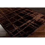 "Surya Graph Burnt Umber (GRP-2002) Square 0'6"" x 0'6"""
