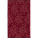"Surya Mystique Maroon (M-237) Rectangle 5'0"" x 8'0"""