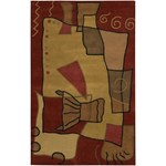 "Chandra Antara (ANT115-576) 5'0""x7'6"" Rectangle Area Rug"