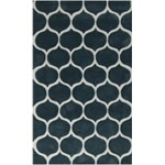 "Surya Mamba Teal Blue (MBA-9020) Rectangle 5'0"" x 8'0"""