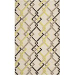 "Surya Rain Ivory (RAI-1122) Rectangle 5'0"" x 8'0"""