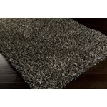 "Surya Roscoe Black Olive (ROS-1006) Square 0'6"" x 0'6"""