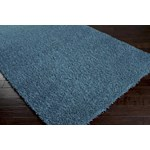 "Surya Shimmer Bright Cerulean (SHI-5004) Rectangle 8'0"" x 10'6"""